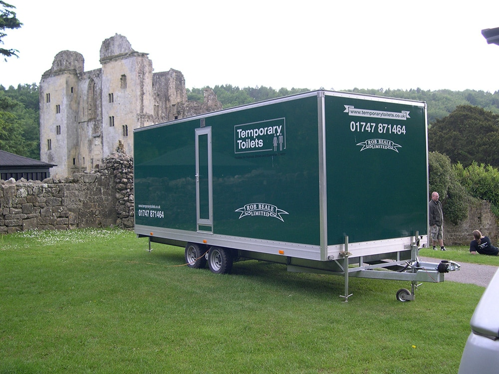 Temporary Facilities Public Event Trailer Toilet